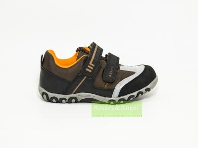 Két tépőzáras fiú zárt cipő 088-3M 56e8d7b928