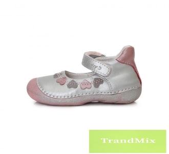 Tépőzáras, lányka nyitott cipő PA1878 1 R Rosaryangel.hu