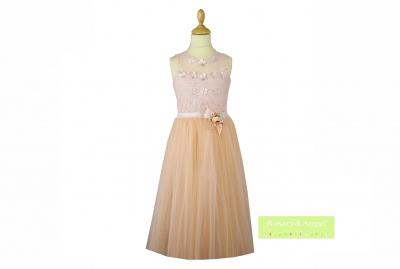 9bb3410166 Lányka koszorúslány ruha RA-190 B