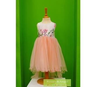 Lányka koszorúslány ruha RA-189 B 774fc16e5f