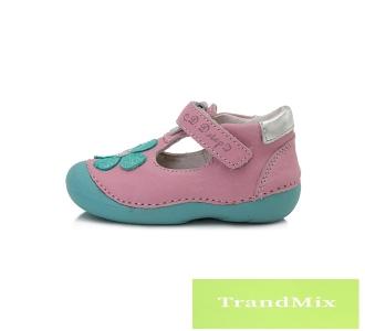 2d019fb0fb rosary Tépőzáras megoldású, kislány nyitott cipő 015-171B