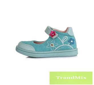 3184998111 rosary Tépőzáras megoldású, supinált, lányka nyitott cipő DA03-1-358