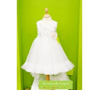 227b48ff2c Lányka koszorúslány ruha RA-201 W