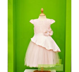90608d0692 Lányka koszorúslány ruha 9272 R