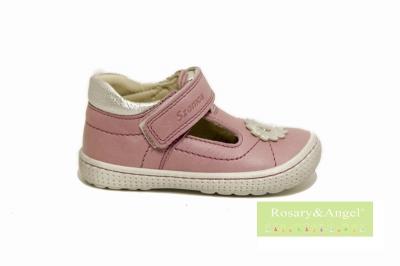 6448b40194 Egy tépőzáras, lányka nyitott cipő 3202-407051